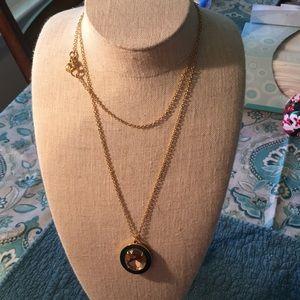 J Crew jewel pendant long necklace l